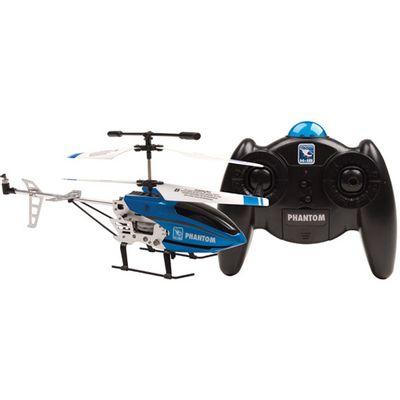 Helicóptero de Controle Remoto - Phantom Azul - Candide