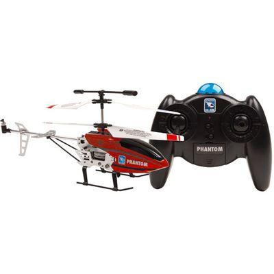 Helicóptero de Controle Remoto - Phantom Vermelho - Candide