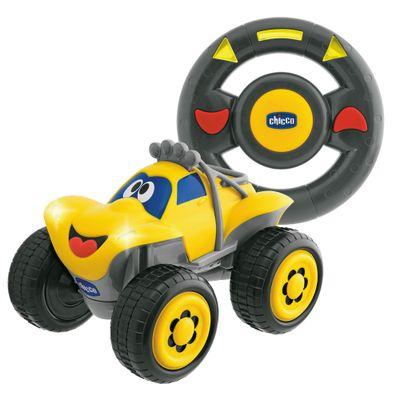 Carrinho de Controle Remoto - Billy Big Wheels Amarelo - Chicco