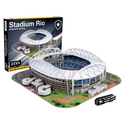 Maquete 3D Oficial - Stadium Rio - Nanostad