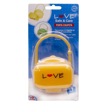 Porta-Chupetas-Laranja-Love