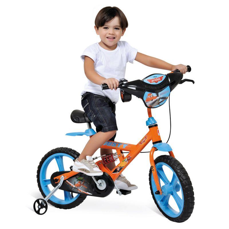 Comprar Bicicleta infantil Aro 14 modelo X-Bike personagem Aviões