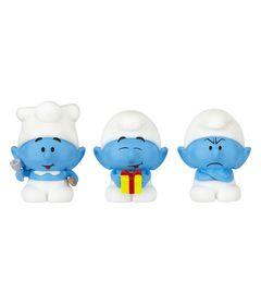 Mini-Bonecos---Smurfs-Micro-Vila---Gourmet-Joca-e-Ranzinza---Sunny