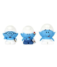 Mini-Bonecos---Smurfs-Micro-Vila---Genio-Habilidoso-e-Robo-Smurf---Sunny