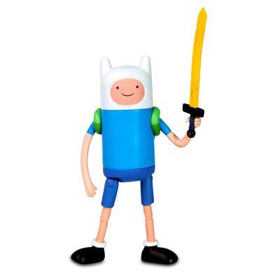 Boneco Adventure Time - Finn 13 cm - Multikids