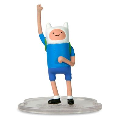 Mini-Boneco-Adventure-Time-Finn-5-cm-Multikids
