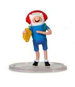 Mini-Boneco-Adventure-Time-Finn-com-fone-5-cm-Multikids