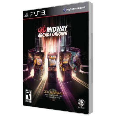 Jogo-PS3-Midway-Arcade-Origins