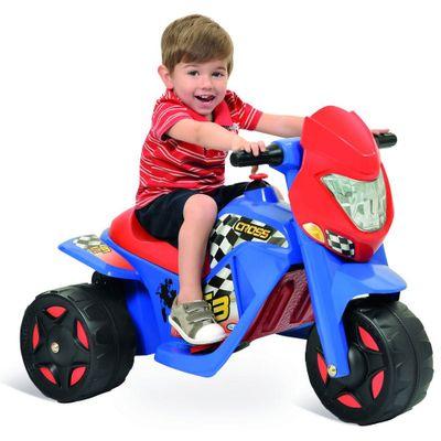 Mini Moto Elétrica - Ban Moto Cross 6V - Bandeirante