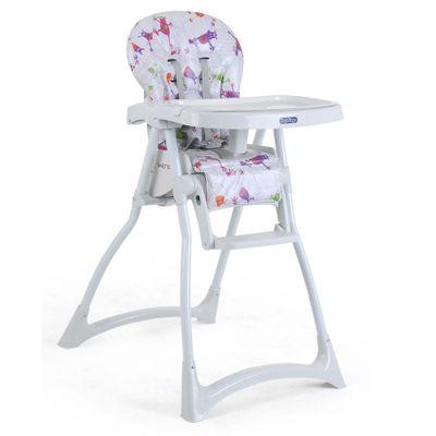 Cadeira de Alimentação com 2 Bandejas e Cinto de Segurança - Merenda - Monstrinhos - Burigotto