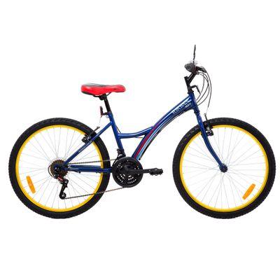 Bicicleta Aro 24 - Aço Urban Teen Azul - Tito Bikes