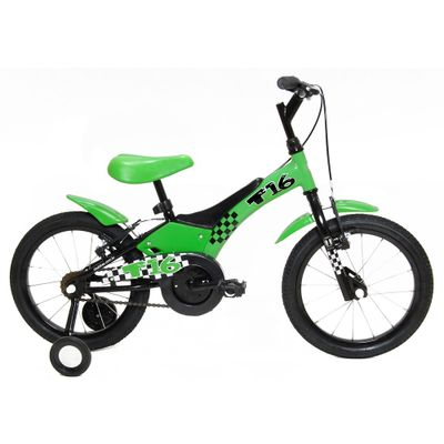 Bicicleta-Aro-16-Aco-T16-Verde-Tito-Bikes