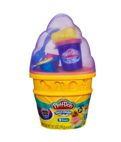 Massinha-Play-Doh---Cone-Sorvete-Lilas---Hasbro