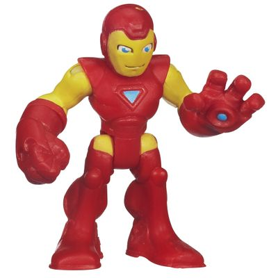 Mini Boneco - Marvel Super Hero - Iron Man - 6 cm - Hasbro