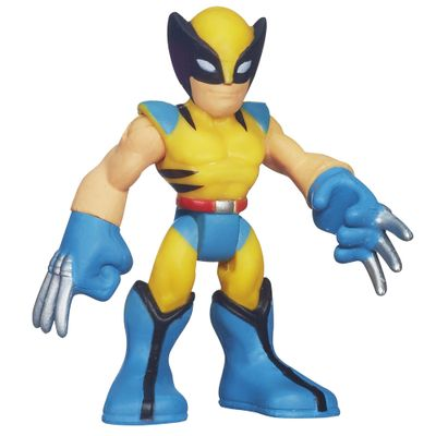 Mini-Boneco---Marvel-Super-Hero---Wolverine---6-cm---Hasbro
