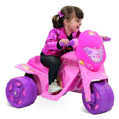 Mini-Moto-Eletrica---Ban-Moto-Barbie-6V---Bandeirante