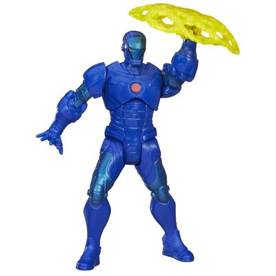 Boneco-The-Avengers-Mighty-Battlers-Iron-Man-Azul-15cm