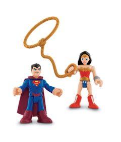 Bonecos-Superman-e-Mulher-Maravilha-Imaginext-DC-Super-Amigos-Fisher-Price