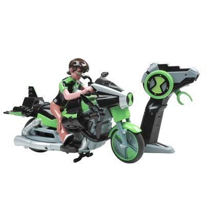 Moto de Controle Remoto -  Ben 10 Omniverse Alien Cycle - Candide - Moto de Controle Remoto - Ben 10 Omniverse Alien Cycle - Candide