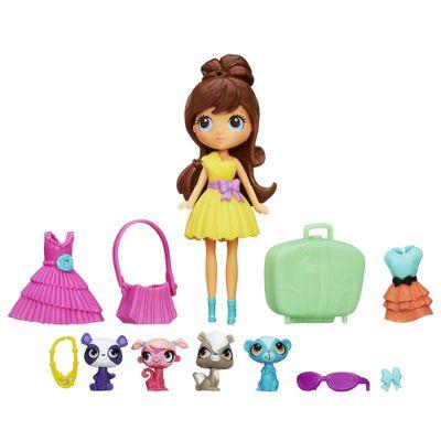Blythe-Littlest-Pet-Shop-com-4-Mini-Pets-Hasbro