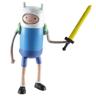 Boneco Adventure Time Deluxe - Finn Troca Faces - 25 cm - Multikids