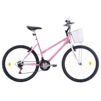 Bicicleta-Aro-26-Bristol-Lance-Branca-e-Rosa