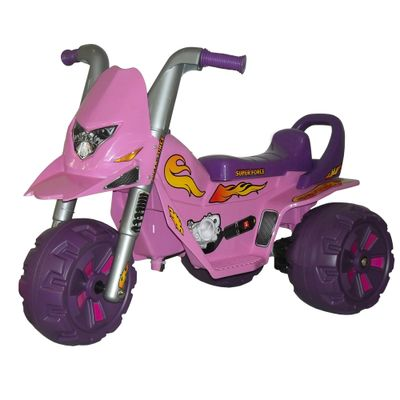 Mini-Moto-Eletrica-Fox-G-Force-Rosa-6V-Biemme