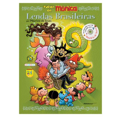 Livro-Turma-da-Monica-Lendas-Brasileiras-Girassol