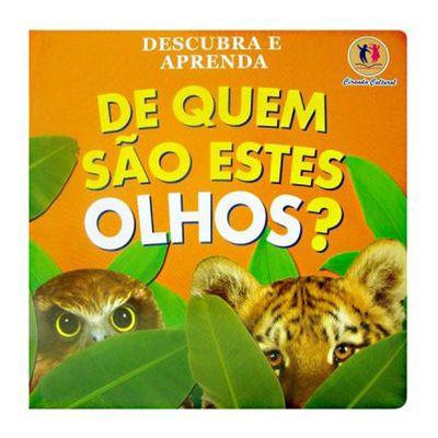 Livro-De-Quem-Sao-Estes-Olhos-Ciranda-Cultural