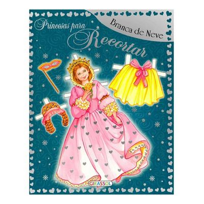 Livro-Princesas-para-Recortar-Branca-de-Neve-Girassol