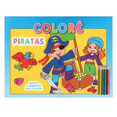 Livro-Colore-Piratas-Girassol