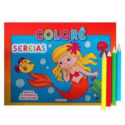 Livro--Colore-Sereias-Girassol