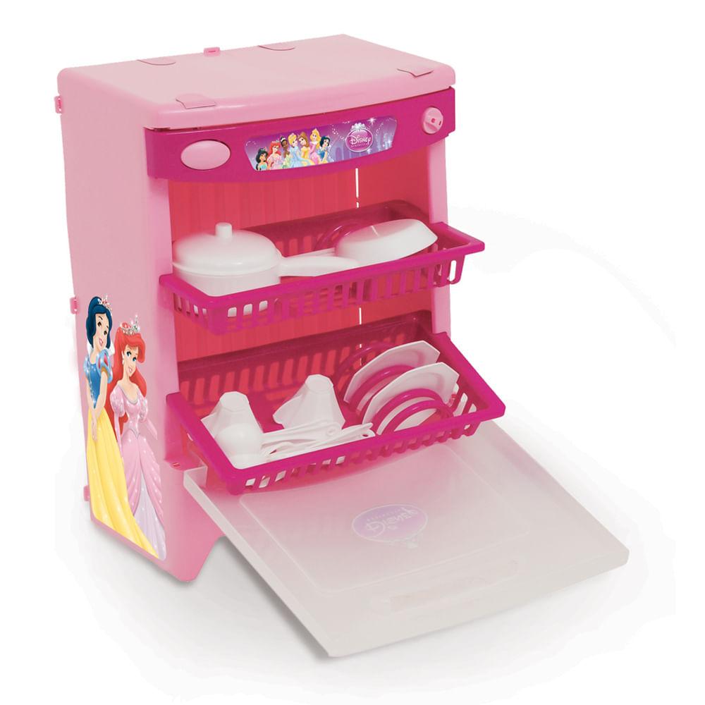 Lava - Louças Princesas Disney com Som - Xalingo