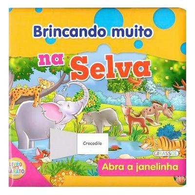 Livro-Brincando-Muito-na-Selva-Girassol