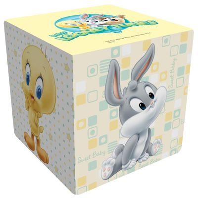 Cubo-de-Espuma---Looney-Tunes-Baby---Branco---Pais-e-Filhos