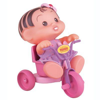 Turma da Mônica - Boneca Mônica no Triciclo - Multibrink