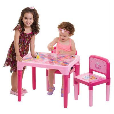 Meninas-na-Mesa-Jogo-Tabuleiro-Divertido---Princesas---Multibrink