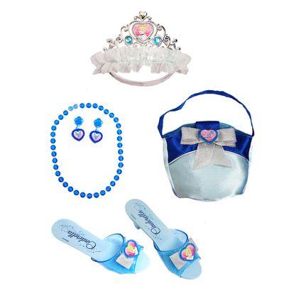 Conjunto-de-Acessorios-Princesas-Disney-Cinderela-Zippy-Toys