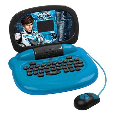 Aberto-Laptop-Infantil-Max-Steel-30-Atividades-Candide