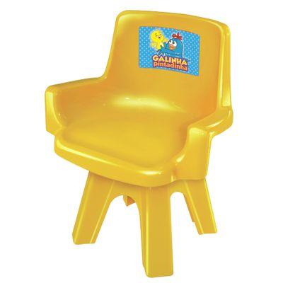 Cadeira-Galinha-Pintadinha-Amarela-Lider