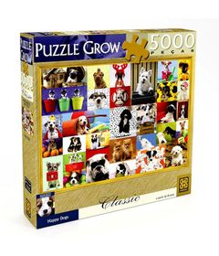 Caixa-Quebra-Cabeca-Happy-Dogs---5000-Pecas---Grow
