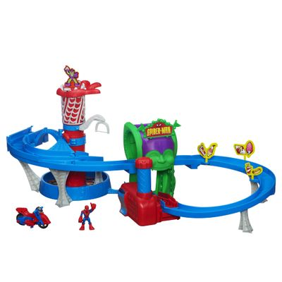 Conjunto-Super-Pista-do-Spider-Man-Playskool-Heroes-Hasbro