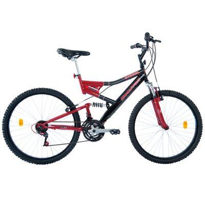 Bicicleta-Aro-26-Stinger-Preta-e-Vermelha-Houston