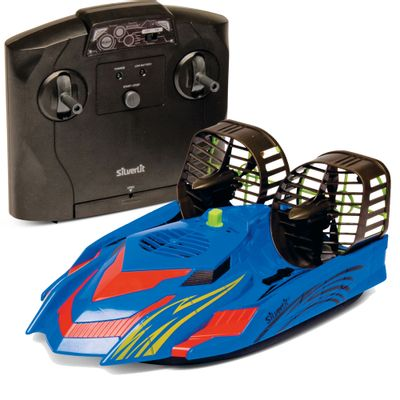 Barco-de-Controle-Remoto-Hover-Racer-Azul-DTC