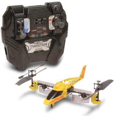 Helicóptero de Controle Remoto - Heli Twister Amarelo - DTC