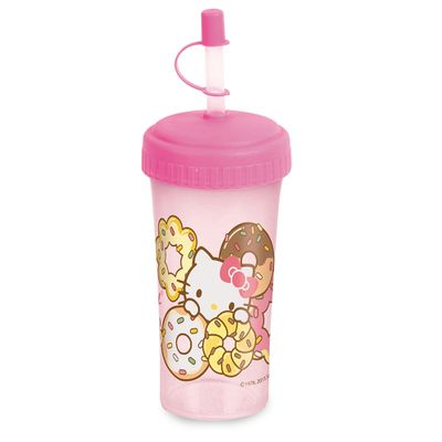 Copo-com-Tampa-e-Canudo-Hello-Kitty-340-Ml