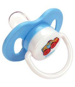 Chupeta-Plus-com-Bico-Ortodontico-de-Silicone---Azul---No.-1---Kuka---2466