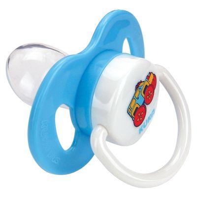 Chupeta-Plus-com-Bico-Ortodontico-de-Silicone---Azul---No.-2---Kuka---2486