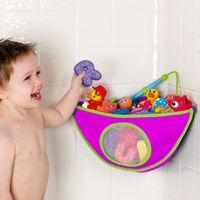 Crianca-com-Organizador-de-Brinquedos-para-Banheiro---Rosa---Munchkin