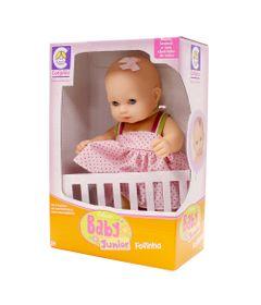Boneca-Baby-Junior-Fofinha-Vestido-Rosa-Claro-Cotiplas